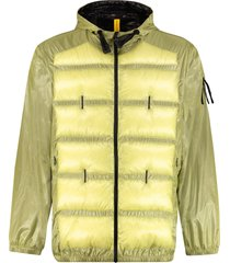 moncler genius hiles technical fabric hooded jacket