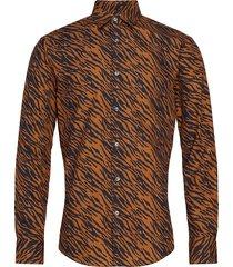 farrell 4 overhemd casual oranje tiger of sweden