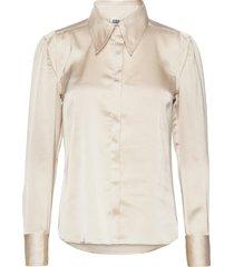 peggy shirt overhemd met lange mouwen beige twist & tango