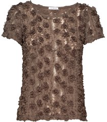 julie top blouses short-sleeved grön ida sjöstedt