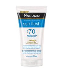 protetor solar neutrogena sun fresh corpo fps 70 120ml