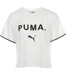 t-shirt korte mouw puma chase mesh tee