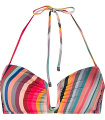 paul smith reversible bikini top - pink