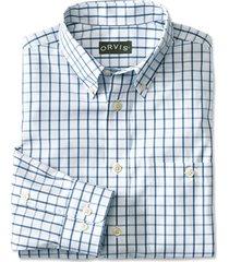 pure cotton wrinkle-free pinpoint oxford shirt / regular, medium blue, xx large