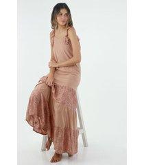 vestido  para mujer topmark, largo y fondo entero
