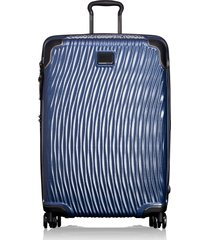 tumi latitude 30-inch extended trip rolling suitcase - blue