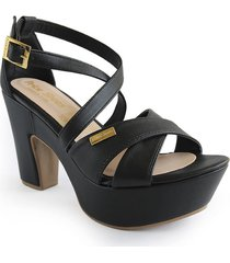 calzado dama tacon 5 1/2 negro 182142170negro
