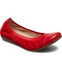 a-4723 ballerinaskor ballerinas röd wonders