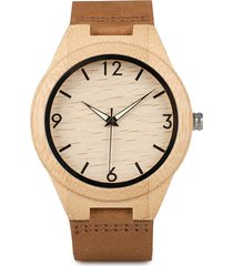 reloj hombre bobo bird madera 703 - cafe