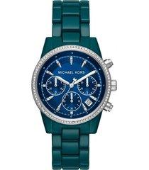 reloj fashion verde michael kors