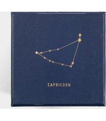 capricorn trinket dish - white