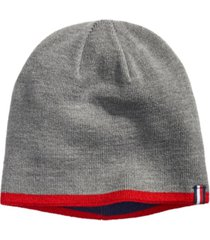 tommy hilfiger men's back bay tipped reversible beanie