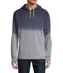 sovereign code men's cotton-blend pullover hoodie - navy - size xl