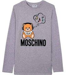 moschino double sweater