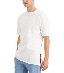 hugo men's dwhite oversized t-shirt