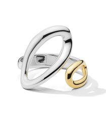 ippolita chimera classico small bypass ring, size 7 in silver at nordstrom
