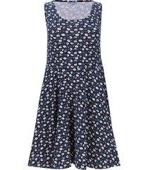 vestido margaritas color azul, talla xs