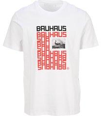 neil barrett bauhaus series / logotype t-shirt