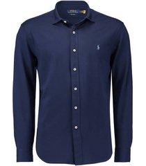 overhemd oxford donkerblauw