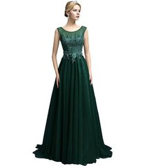 women's prom dress long,formal evening dress,party dress, prom gown dark green