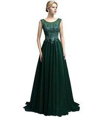 women's prom dress long,formal evening dress,party dress, prom gown dark green