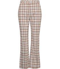 rosetta pants broek met wijde pijpen multi/patroon by malina