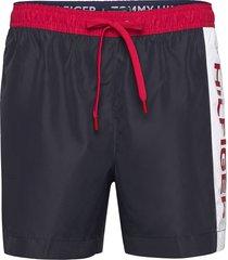 medium drawstring shorts casual blå tommy hilfiger