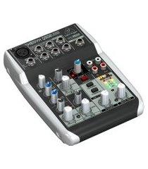 mesa de som analógica behringer xenyx q502usb 110v preto