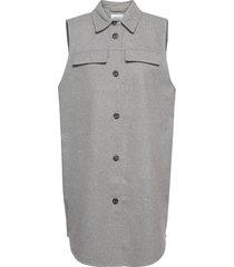 maude waistcoat vests knitted vests grå moss copenhagen