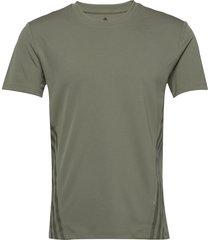 aero 3s tee t-shirts short-sleeved grön adidas performance