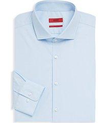 long-sleeve cotton dress shirt