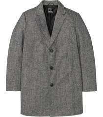 cappotto corto con collo a revers (nero) - bpc selection