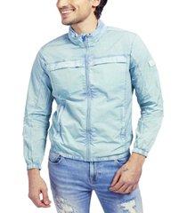 guess men's daily windbreaker jacket