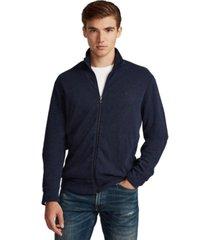 polo ralph lauren men's jersey full zip sweatshirt