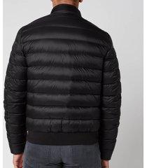 belstaff men's circuit padded jacket - black - 56/xxxl