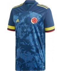 camiseta azul adidas visitante colombia