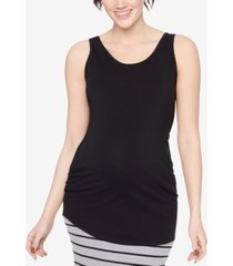 bumpstart maternity tank top, two-pack