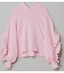 cherry blossom heather hoodie