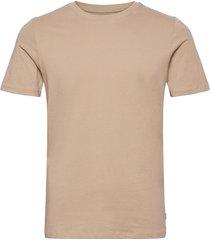 jjeorganic basic tee ss o-neck noos t-shirts short-sleeved beige jack & j s