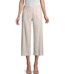 trina turk women's monument striped pants - size 12