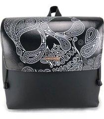 zaino alviero rodriguez abstract skull zainetto as unico