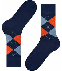 manchester socks - navy/orange 20182-6110