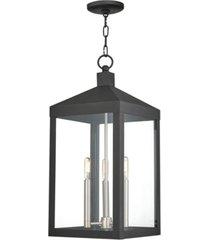 livex nyack 3-light pendant