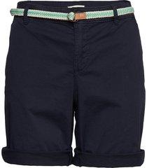 shorts woven shorts chino shorts blå esprit casual