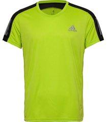 own the run tee t-shirts short-sleeved gul adidas performance