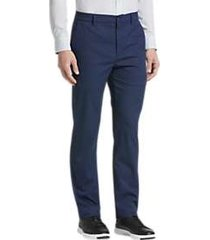 cole haan grand.s blue modern fit pants