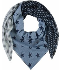 fraas retro patchwork scarf