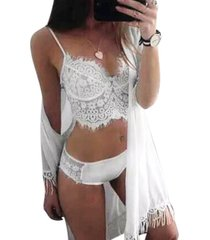 womens sexy honeymoon lingerie wedding nite bra panty sets intimate underwear