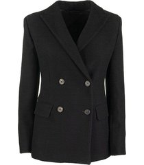grolla stocking stitch blazer