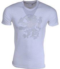 new republic koningsdag t-shirt - leeuw strass stenen